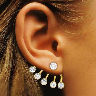 Spargz Brass Metal Earring_Aier435