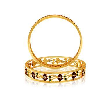 Spargz Brass Metal Bangle_Aib036