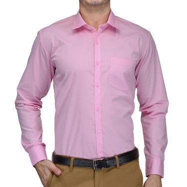 Being Fab Cotton Formal Shirt_Bfs01 - Pink