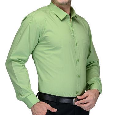 Being Fab Cotton Formal Shirt_Bfs06 - Light Green