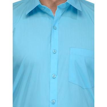 Being Fab Cotton Formal Shirt_Bfs11 - Blue