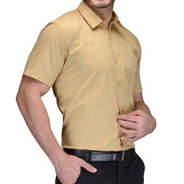 Being Fab Cotton Formal Shirt_Bfs31 - Beige