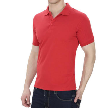 Pack of 3 Oh Fish Plain Polo Neck Tshirts_P3redwhtblu
