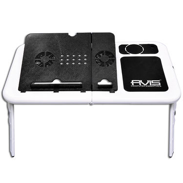 DGB Turbo Laptop Portable E-Table - White