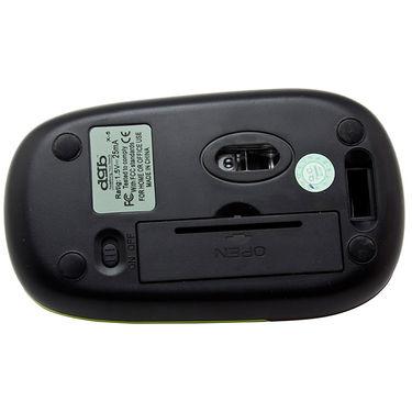 DGB Jeune X-5 Notebook Slim Mouse - Black