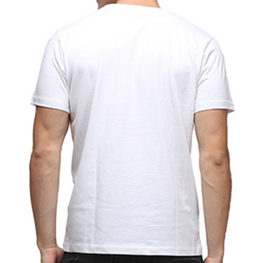 Effit Half Sleeves Round Neck Tshirt_Etscrn037 - White