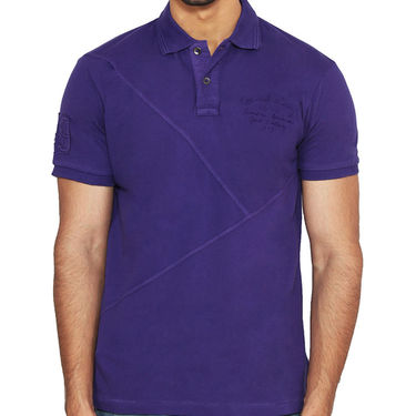 Branded Cotton Casual Tshirt_Gnt02 - Purple
