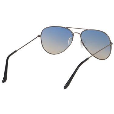 Alee Aviator Metal Unisex Sunglasses_Rs0204 - Blue