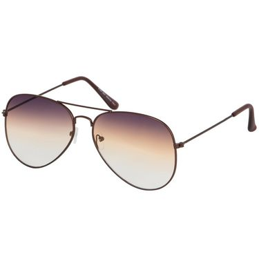 Alee Aviator Metal Unisex Sunglasses_Rs0211 - Brown