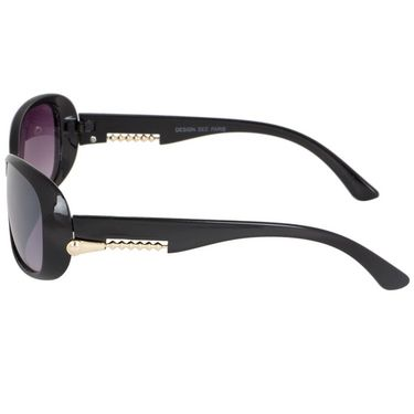 Alee Oval Plastic Women Sunglasses_Rs0220 - Purple