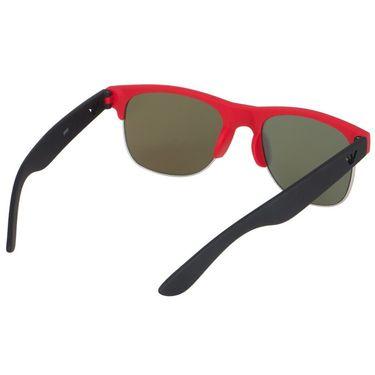 Alee Wayfare Metal Unisex Sunglasses_Rs0228 - Red