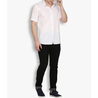 Stylox Cotton Shirt_whthlfp030 - White