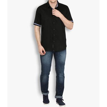 Stylox Cotton Shirt_blckhfp034 - Black