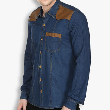 Stylox Cotton Shirt_dbdnm221 - Dark Blue