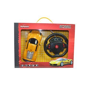 Majorette Speed Master Car with Gravity Sensor Steering Wheel Yellow Ferrari