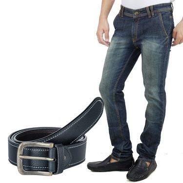 Stylox Jeans With Belt_Dnm42023