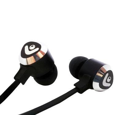 Envent in Ear Earphone with mic-Beatz 301 (Black)