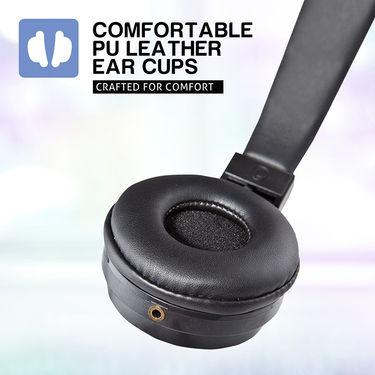 Envent Premium Foldable Wired Headphone Beatz 501 ( Black )