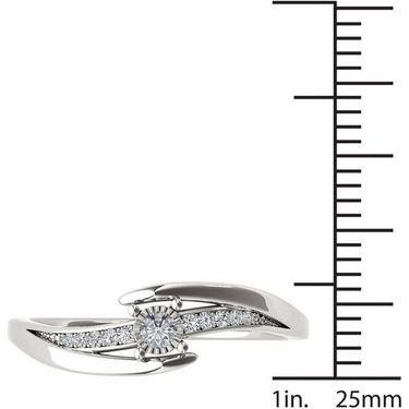 Kiara Swarovski Signity Sterling Silver Kavya Ring_KIR1043