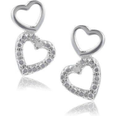 Ag Real Diamond  Pranjal Earring_ AGSE0225