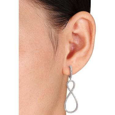 Ag Real Diamond  Nandini Earring_ AGSE0226