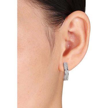 Kiara Swarovski Signity Sterling Silver Kolkatta Earring_KIE0540