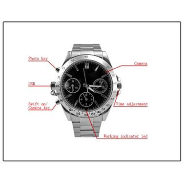 Wrist Watch Camera Code 008
