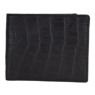 Spire Stylish Leather Wallet For Men_Smw109 - Black
