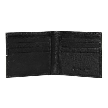 Spire Stylish Leather Wallet For Men_Smw113 - Black