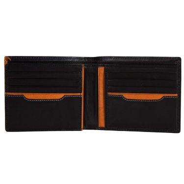 Spire Stylish Leather Wallet For Men_Smw143 - Black