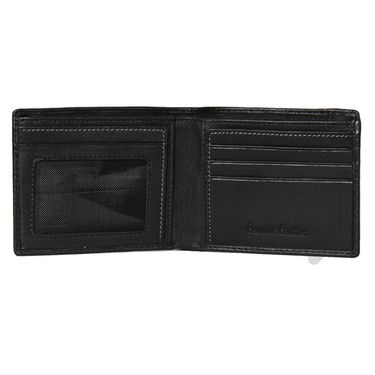 Spire Stylish Leather Wallet For Men_Smw148 - Black