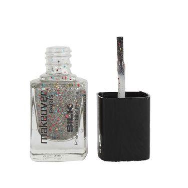 Makeover Professional Premium Nail Enamel - Sparking Silver