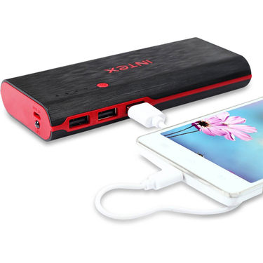Intex Na IT-PB12 12500 mAh - Black & Red