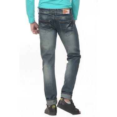 Forest Faded Slim Fit Denim Jeans_Jnfrt12 - Blue