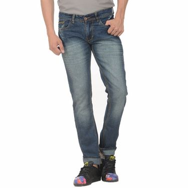 Pack of 2 Forest Plain Slim Fit Jeans_Jnfrt14 - Blue
