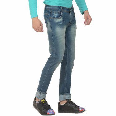Pack of 2 Forest Plain Slim Fit Jeans_Jnfrt56 - Blue