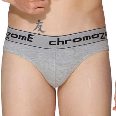Pack of 3 Chromozome Regular Fit Briefs For Men_10025 - Multicolor