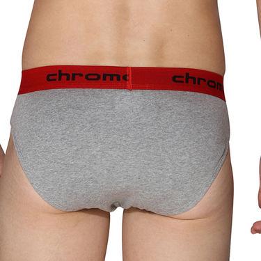 Pack of 3 Chromozome Regular Fit Briefs For Men_10199 - Multicolor