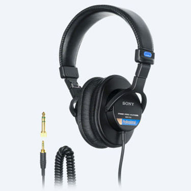 Sony MDR-7506 Over Ear Headphone Without Mic (Black)
