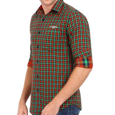 Crosscreek 100% Cotton Shirt For Men_1130301 - Multicolor