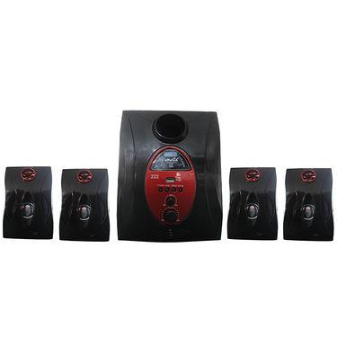 AMOSTA SHT1F02501 222 W DX Subwoofer - Black