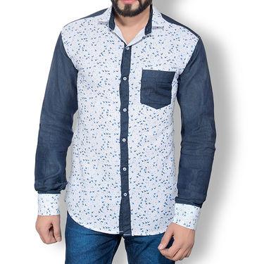 Pack of 3 Good Karma Cotton Premium Designer Shirts_Gkc007 - Mulitcolor