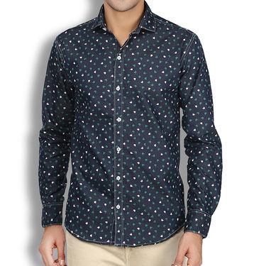 Branded Denim Cotton Shirt_Gkds08 - Multicolor