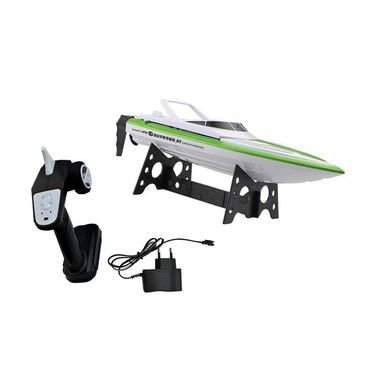 High Speed  Racing Boat with Velocity of 5.5 mtrs/sec Dark Green