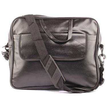 Fidato Combo of Urbane Men's Laptop Bag + 7 Utility Accessories