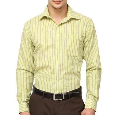 Copperline 100% Cotton Shirt For Men_CPL1194 - Green