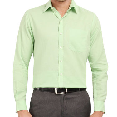 Copperline 100% Cotton Shirt For Men_CPL1211 - Green