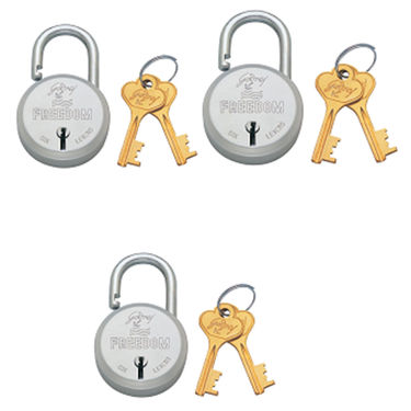 Godrej Freedom 6 Lever 2 Key(set of 3)