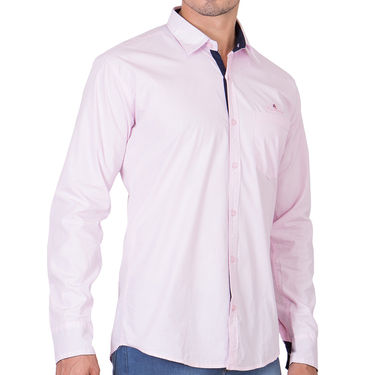 Branded Full Sleeves Cotton Shirt_R25kpnk - Pink