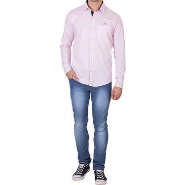 Branded Full Sleeves Cotton Shirt_R218kpnk - Pink